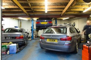 Great garages do specialist work
